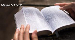 Mateo 5:11-12