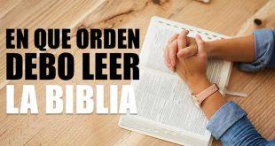 En que Orden Debo Leer la Biblia